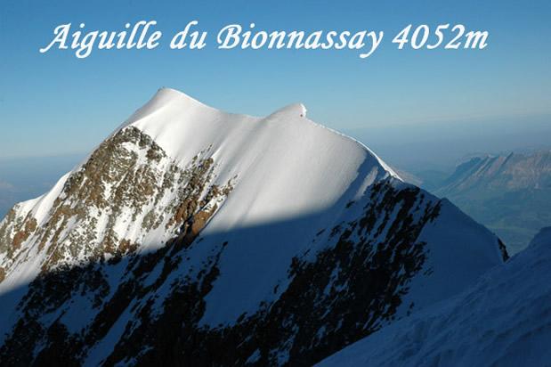 Aiguille de Bionnassay (4052 m) foto: Klemen Gričar