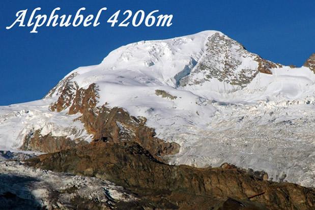 Alphubel (4206 m) foto: Klemen Gričar