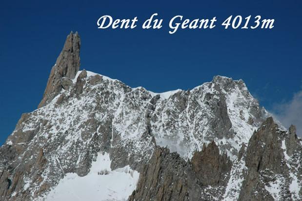 Dent du Geant (4013 m) foto: Klemen Gričar