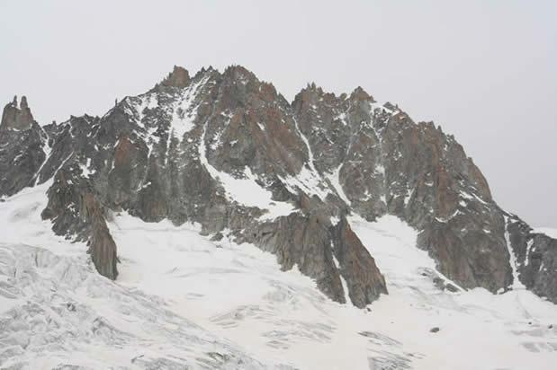 Les Droites (4000 m) foto: Tomaž Jakofčič