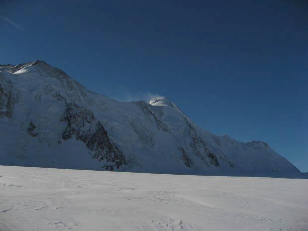 Aletschhorn z ledenika