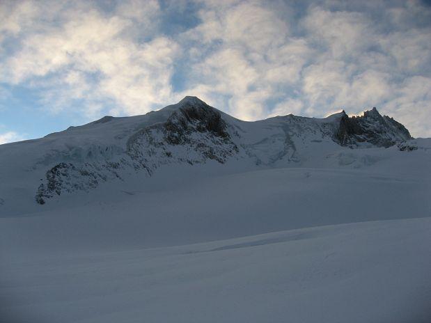 Bishorn in severni greben Weisshorna z Grand Gendarm