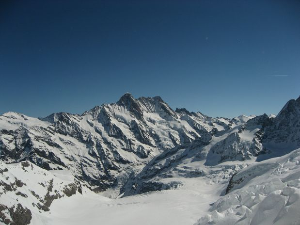 Schreckhorn in Lauteraarhorn