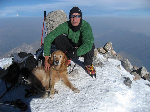 Uka na vrhu Elbrusa (5642 m), Kavkaz, Rusija